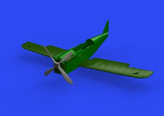 SE.5a propeller four-blade 1/48  - 1
