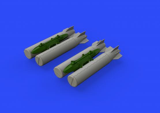 M36 kazetové bomby 1/48  - 1
