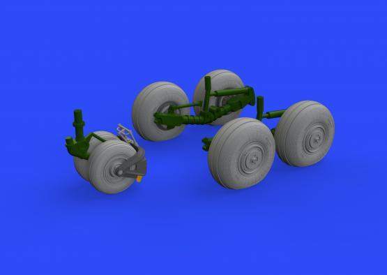 Su-34 wheels 1/48  - 1