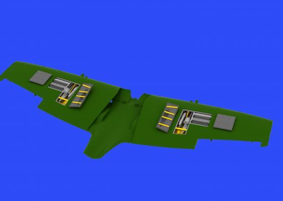 Spitfire Mk.IXe gun bays 1/48  - 1