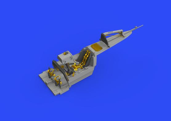 Fw 190A-3 кабина 1/48  - 1