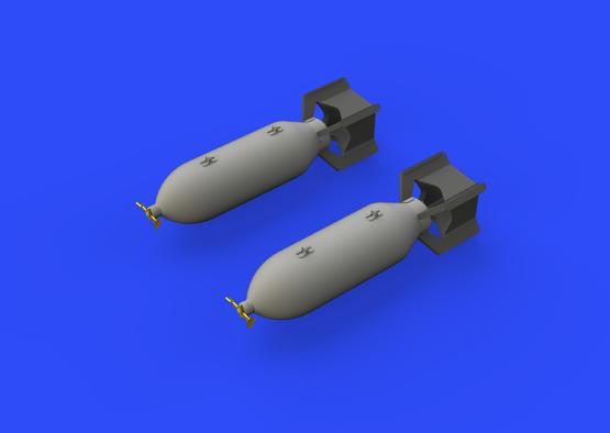 P-51D 250lb bombs 1/48  - 1