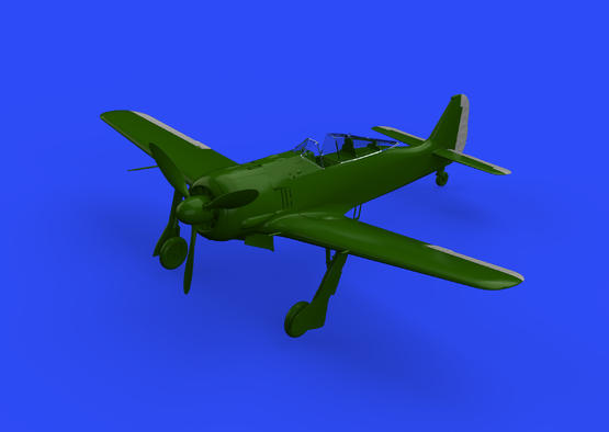 Fw 190A 操縦翼面 初期型 1/48  - 1