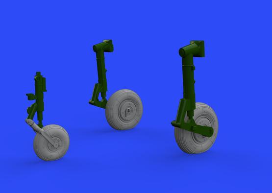 L-29 wheels 1/48  - 1