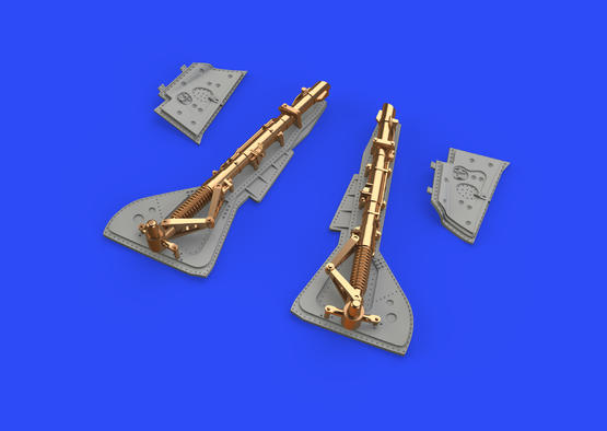 Fw 190A-2 undercarriage legs BRONZE 1/48  - 1