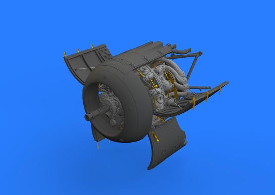 Fw 190A-5 engine 1/48