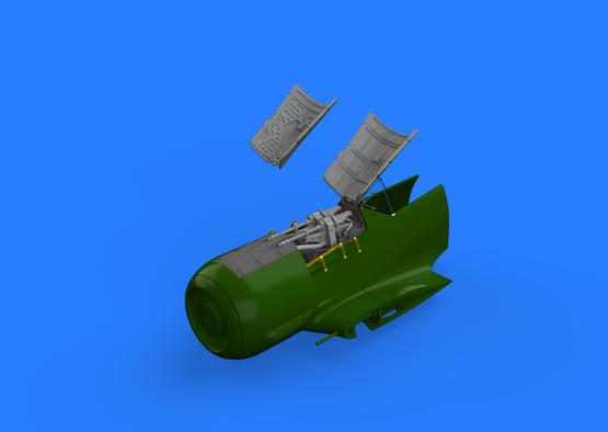 Fw 190A-5 fuselage guns 1/48