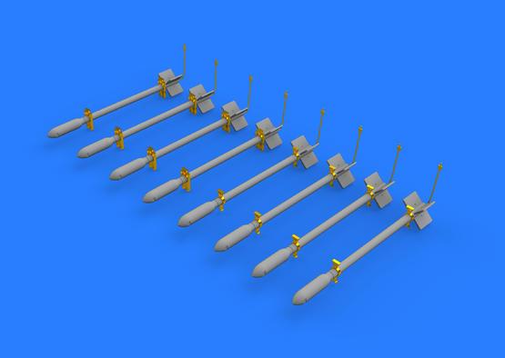 British Rocket Projectiles RP-3 60lb F. 1/48