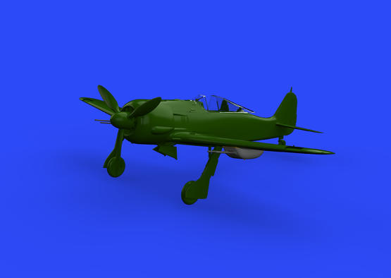 Fw 190A-5/U12 пушечные гондолы 1/48  - 1