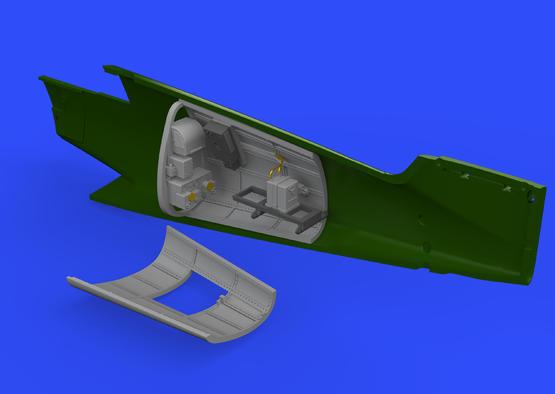 Bf 109G-6 radio compartment 1/48  - 1