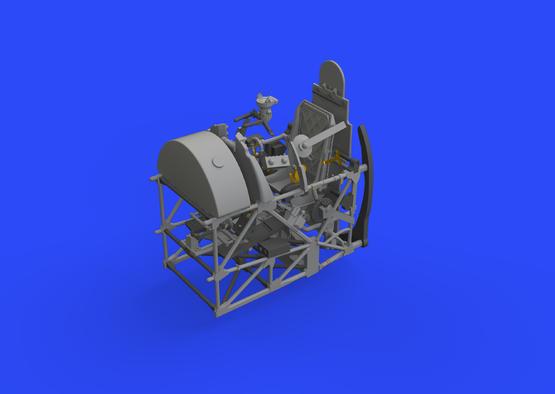 テンペストMk.V コクピット 1/48  - 1