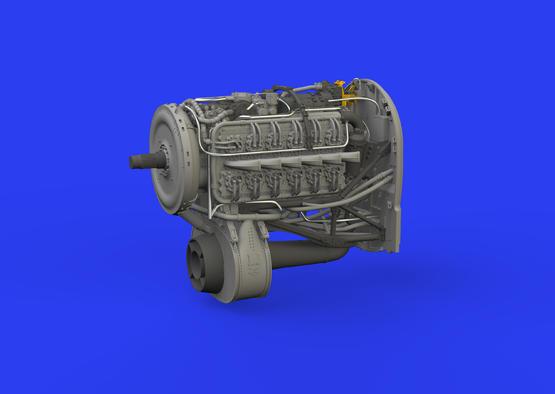 Tempest Mk.V двигатель 1/48  - 1