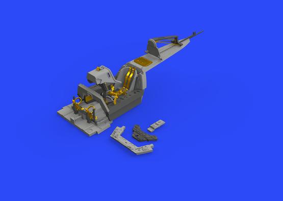 Fw 190A-8/R2 cockpit 1/48  - 1