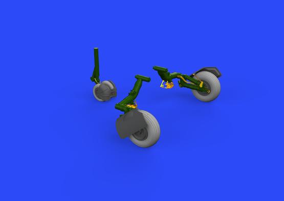MiG-23ML wheels 1/48  - 1