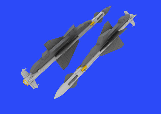 R-23R missiles for MiG-23 1/48  - 1