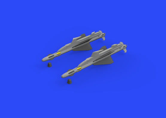R-23T missiles for MiG-23 1/48  - 1