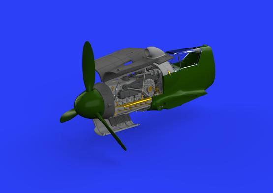 Bf 109G-10 エンジン 1/48  - 1