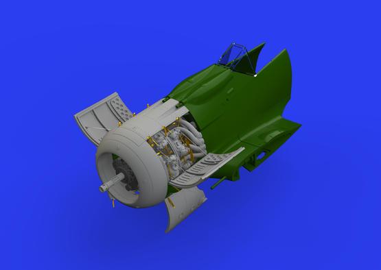 Fw 190A-8 двигатель 1/48  - 1