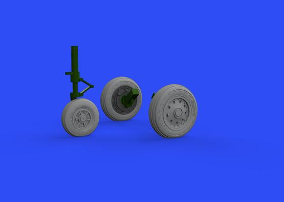 F-104 wheels early 1/48  - 1