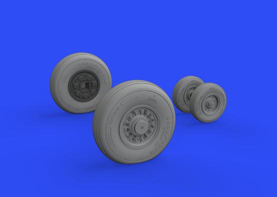 F-14D wheels 1/48  - 1
