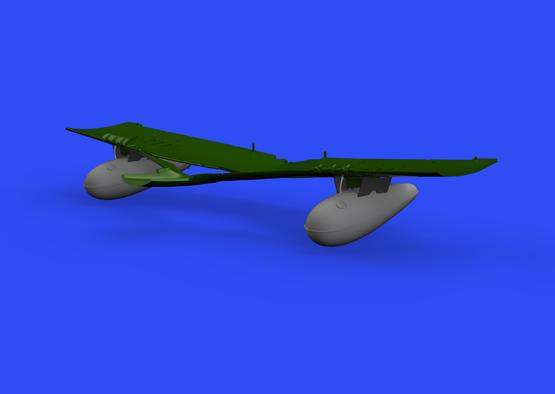 P-51D 110gal přídavná nádrž 1/48  - 1