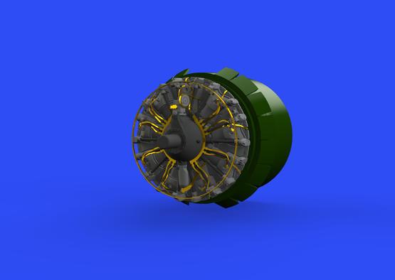 B-17G engines 1/48  - 1
