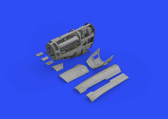 P-51D engine 1/48  - 1