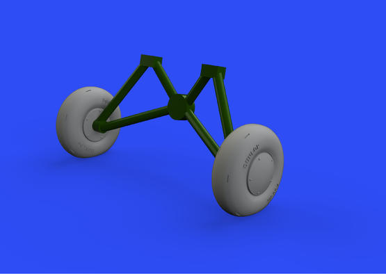 Tiger Moth wheels 1/48  - 1