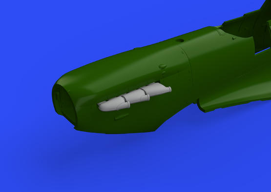 Spitfire Mk.I exhaust stacks 1/48  - 1