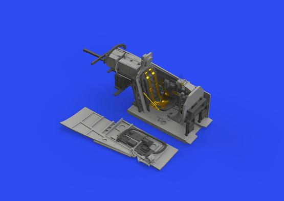 F-6D cockpit 1/48  - 1