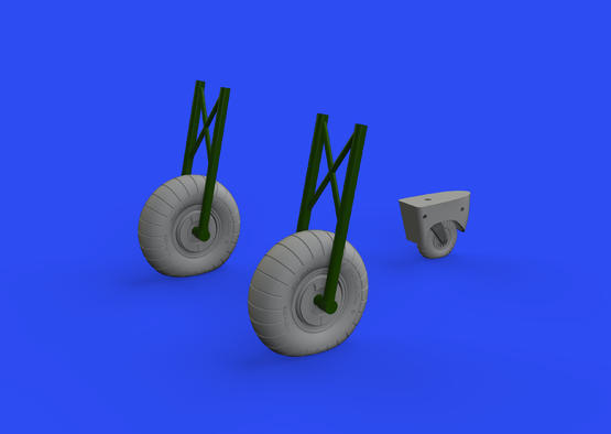 Do 17Z wheels 1/48  - 1
