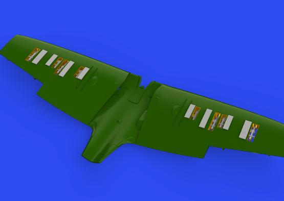 Spitfire Mk.IIa gun bays 1/48  - 1