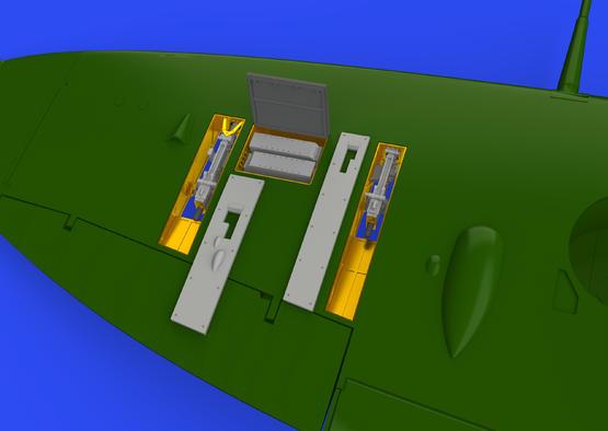 Spitfire Mk.IIb gun bays 1/48  - 1