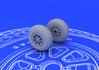 P-51 wheels 1/72 - 1/3