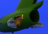 MiG-15 airbrakes 1/72 - 1/6