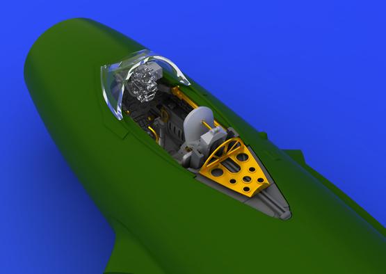 MiG-15 cockpit 1/72  - 1