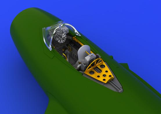 MiG-15bis cockpit 1/72  - 1