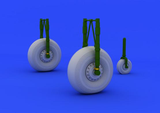 Lancaster wheels 1/72  - 1