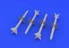 AIM-7E Sparrow 1/72 - 1/2
