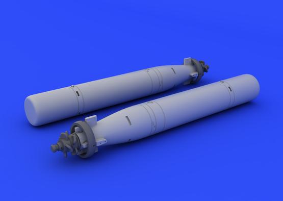 Mk.44 torpedo 1/72  - 1
