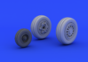F-16CJ Block 50 wheels 1/72 - 1/3