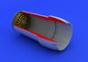 F-16CJ Block 50 exhaust nozzle 1/72 - 1/6