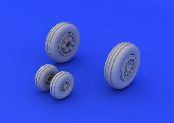 JAS-39 wheels 1/72  - 1