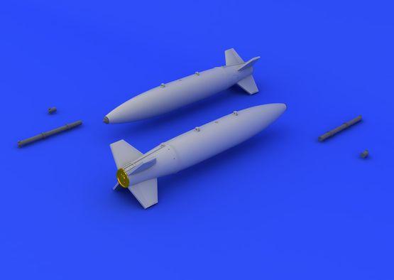 Mk.84 бомбы с воздушным тормозом 1/72  - 1