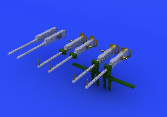 M-2 Browning guns 1/72  - 1