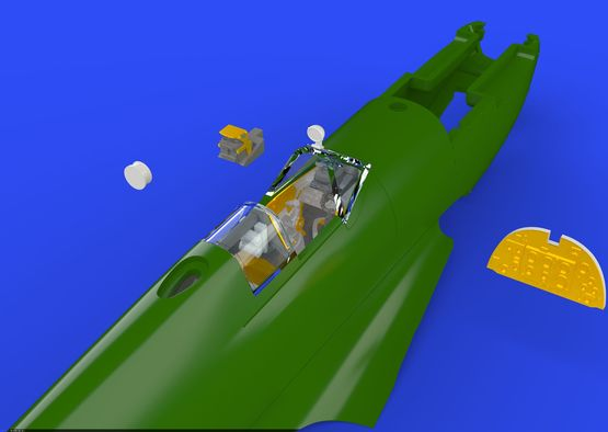 Spitfire Mk.IX cockpit 1/72  - 1