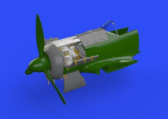 Fw 190A-5 engine 1/72  - 1