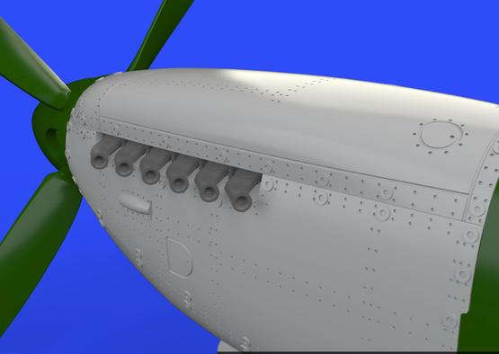 Spitfire Mk.IX двигатель 1/72  - 1