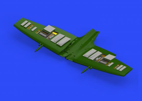 Spitfire Mk.IXc gun bays 1/72  - 1