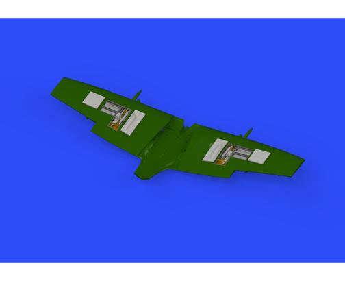 Spitfire Mk.IXe gun bays 1/72